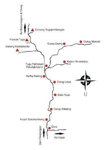 Peta Petungkriyono