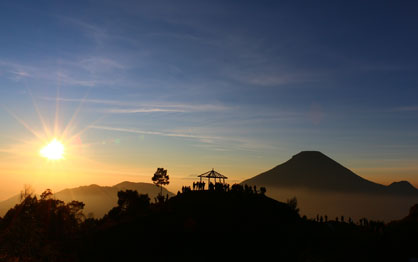 puncak Sikunir dieng