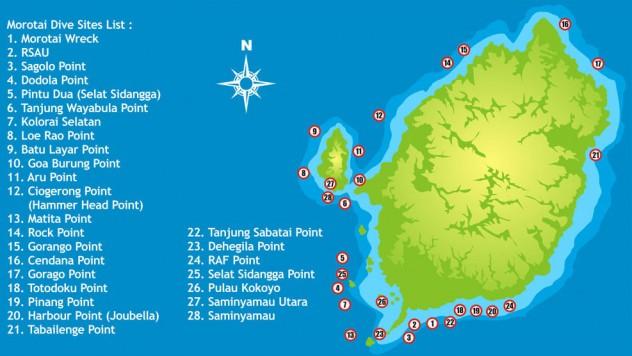 Morotai diving