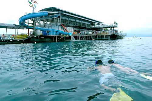 Ponton QuickSilver di Nusa Penida
