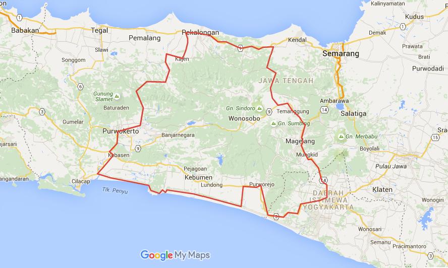 Maps Jawa Tengah