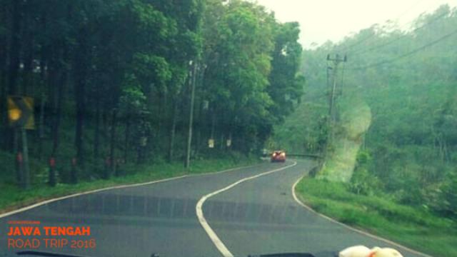 Perbatasan Kabupaten Pemalang dengan Kabupaten Purbalingga.